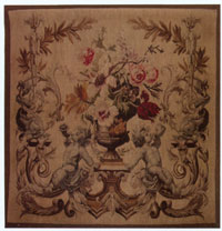 Hand Woven Aubusson Tapestry 2113B-1
