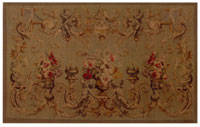Hand Woven Aubusson Tapestry 2113G-2