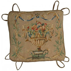 Fruit Bowl Aubusson Chair Cushion