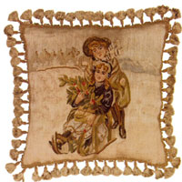 Old World Christmas Collection - Aubusson Pillow DL79A