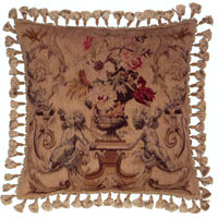 Old World Christmas Collection - Aubusson Pillow DLH2