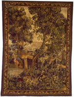 Hand Woven Aubusson Tapestry DLT07