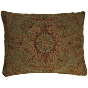 Beaded Needlepoint Pillow JBL49