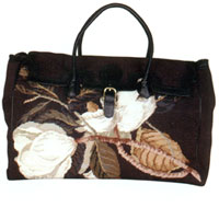 Williamsburg Reserve Daily Needlepoint Bag