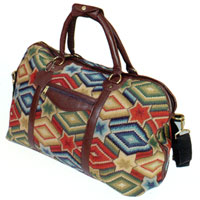 Williamsburg Reserve Weekender Needlepoint Bag