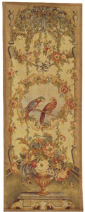 Hand Woven Aubusson Tapestry QDE015C