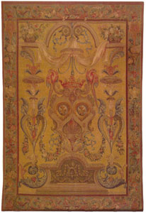 Hand Woven Aubusson Tapestry TL107B
